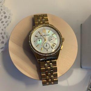 Michael Kors women's gold tone Chronograph Watch